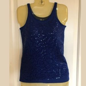 Old Navy Sequin Front Tank Top Size Small.